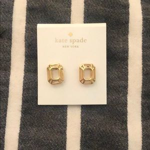 Kate Spade gold earrings